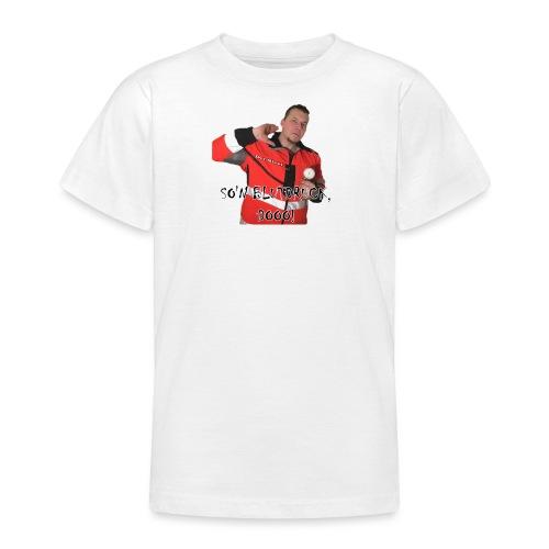 Sievi mit RR-Manschette SO'N BLUTDRUCK, DOOO! - Teenager T-Shirt