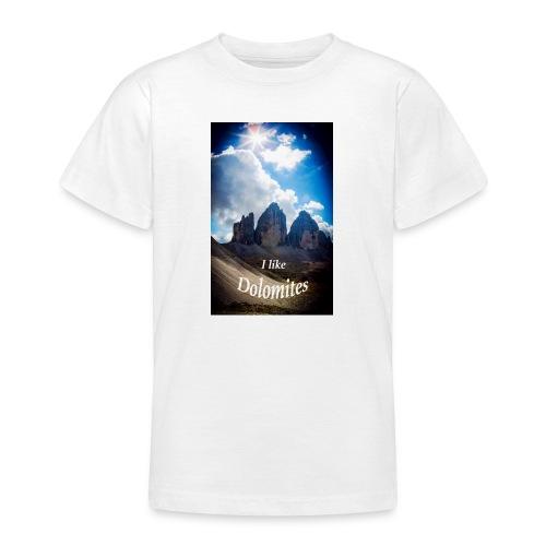 I like Dolomites Kopie - Teenager T-Shirt