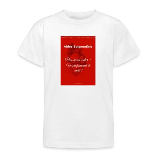 Association Nationale des aides soignant e s de fr - T-shirt Ado