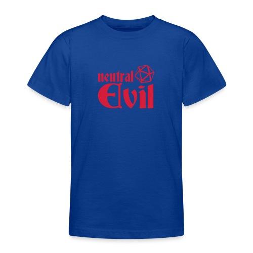 neutral evil - Teenage T-Shirt