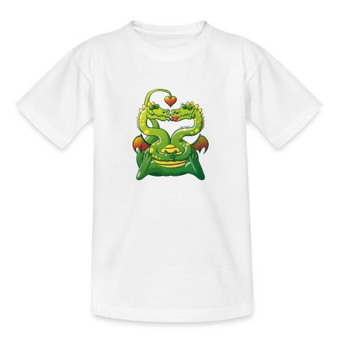 Dragons Madly in Love - Teenage T-Shirt