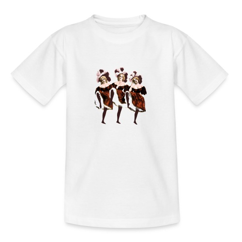 Vintage Dancers - Teenage T-Shirt