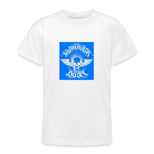 Swagger & Doom Blue/ White 1.0 - Teenage T-Shirt