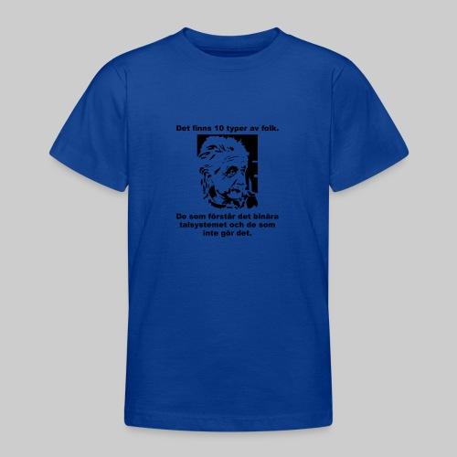 Det finns 10 Typer - T-shirt tonåring