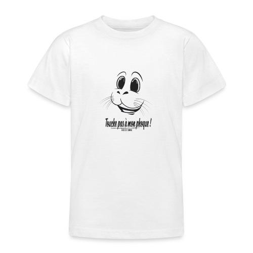 Touche pas à mon phoque de Baie de Somme - T-shirt Ado