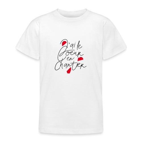 coeur en chantier - T-shirt Ado