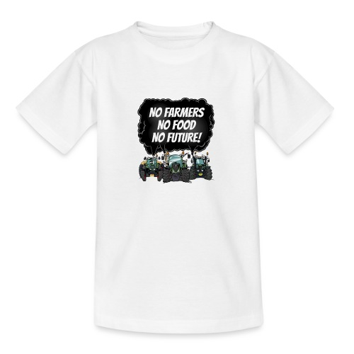 food tshirt F - Teenager T-shirt