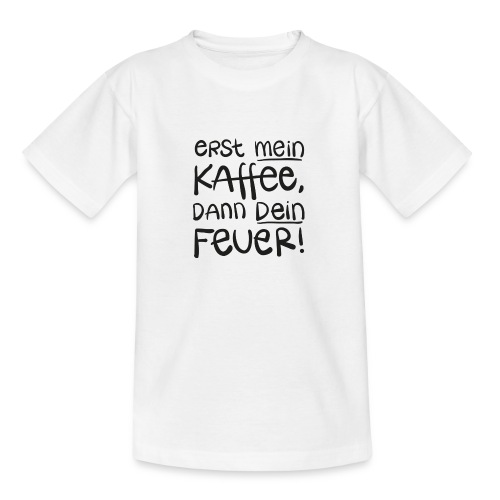Tassentext - Teenager T-Shirt