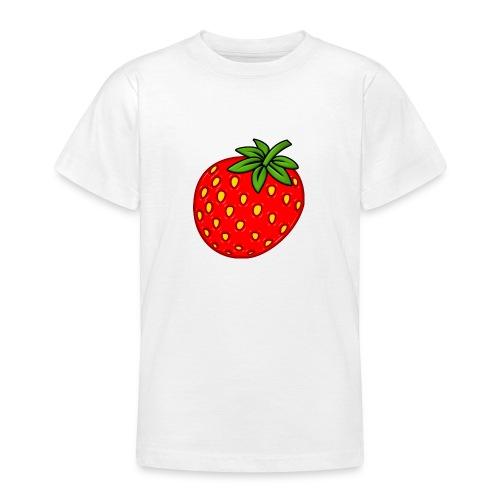 Erdbeere - Teenager T-Shirt