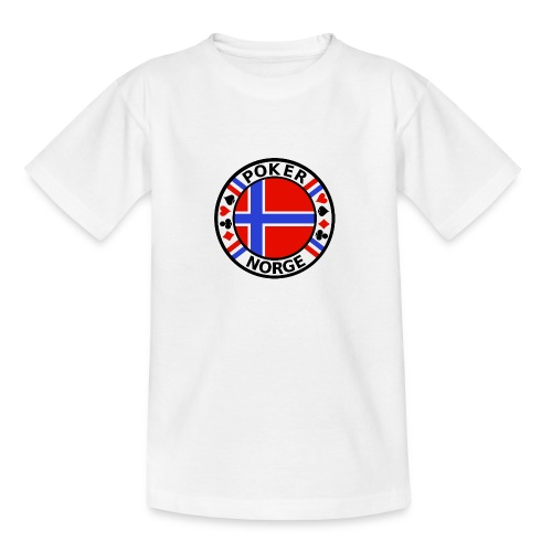 PoKeR NoRGe - Teenage T-Shirt