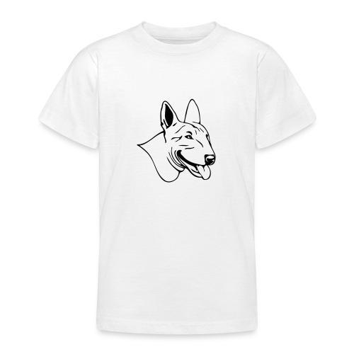(189) freundlicher Bullterrier - Teenager T-Shirt