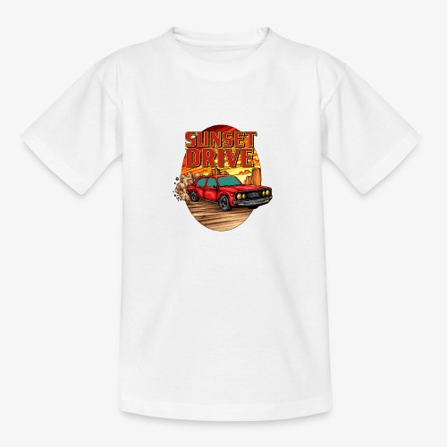 Sunset Drive - T-shirt Ado