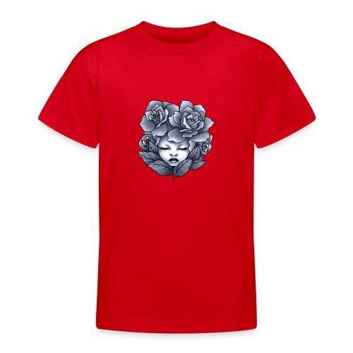 Flower Head - T-shirt Ado