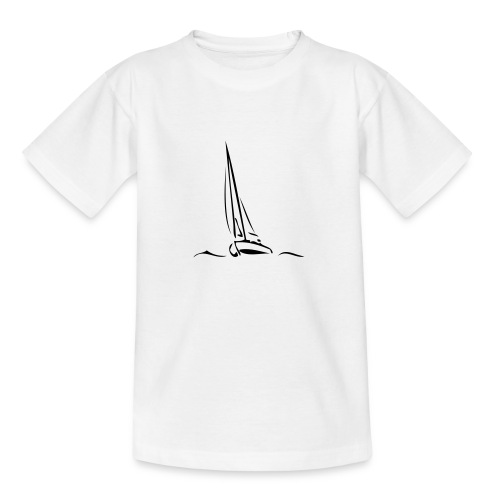 Segelboot - Teenager T-Shirt