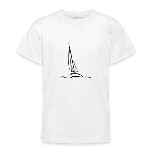 Segelboot - Teenager T-Shirt