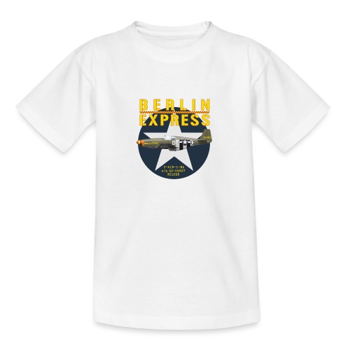 P-51B Berlin Express - T-shirt Ado