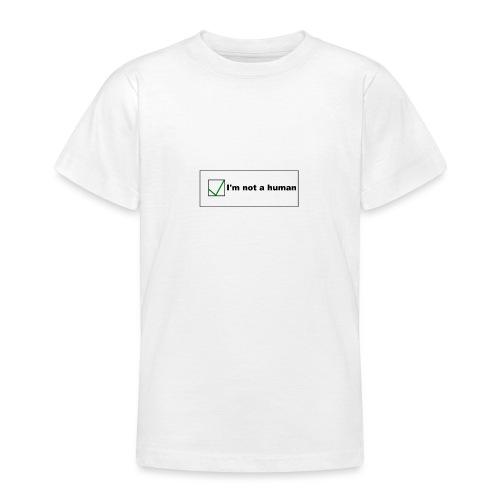 Human Captcha - Teenager T-Shirt