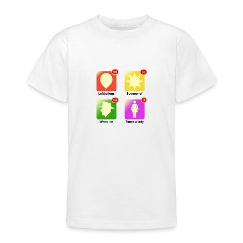 muziek apps - Teenager T-shirt