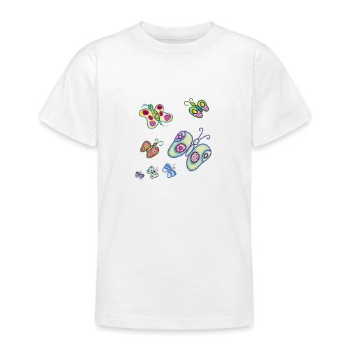 Allegria di farfalle - Maglietta per ragazzi