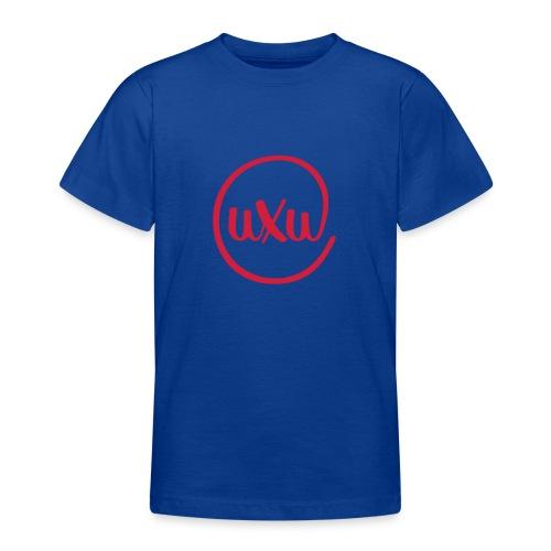 UXU logo round - Teenage T-Shirt