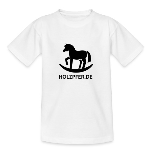 Holzpferde - Teenager T-Shirt