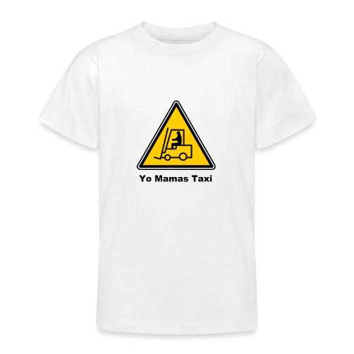Mamas Isle Taxi - Teenage T-Shirt