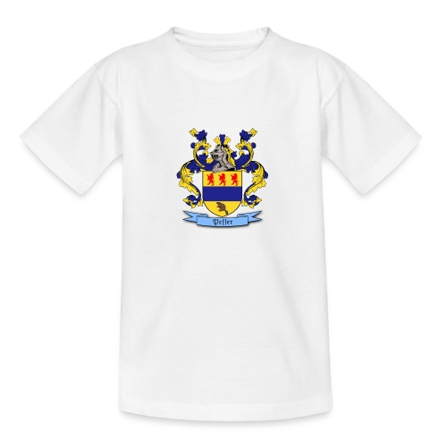 Peffer Family Crest - Teenage T-Shirt