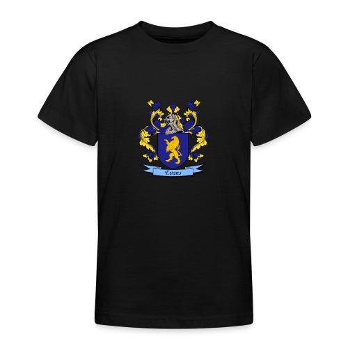 Evans Family Crest - Teenage T-Shirt