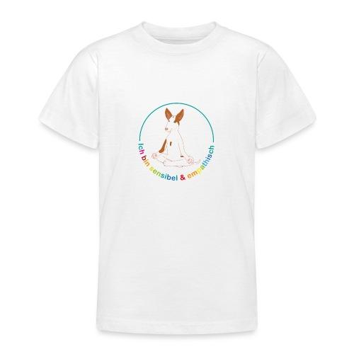 Ich bin sensibel & empathisch (Amigo bunt) - Teenager T-Shirt