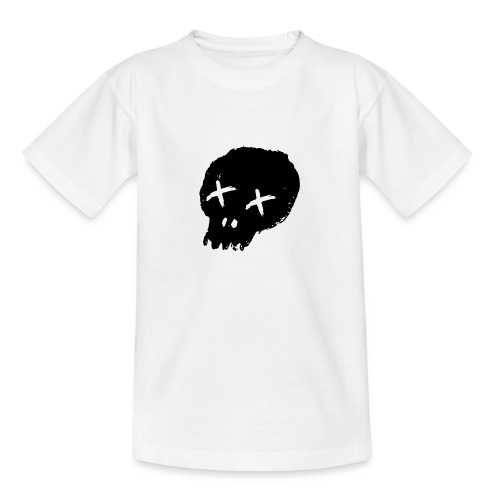 blackskulllogo png - Teenage T-Shirt