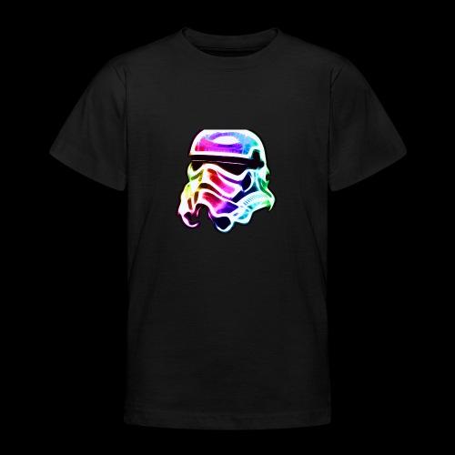 Rainbow Stormtrooper - Teenage T-Shirt