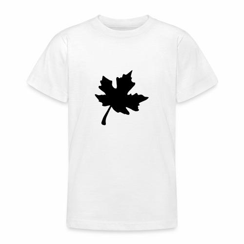 Ahorn Blatt - Teenager T-Shirt