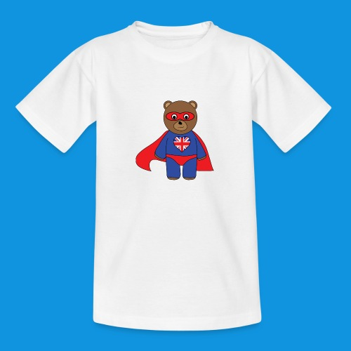 British Hero Bear tank - Teenage T-Shirt