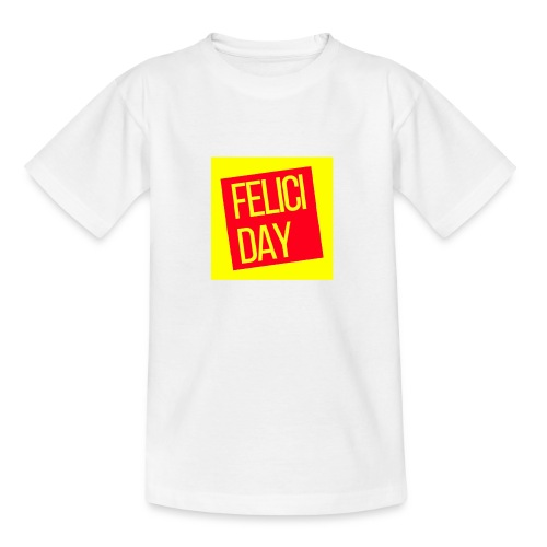 Feliciday - Camiseta adolescente