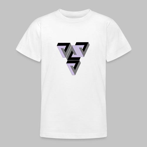 Penrose Triangle - Teenage T-Shirt