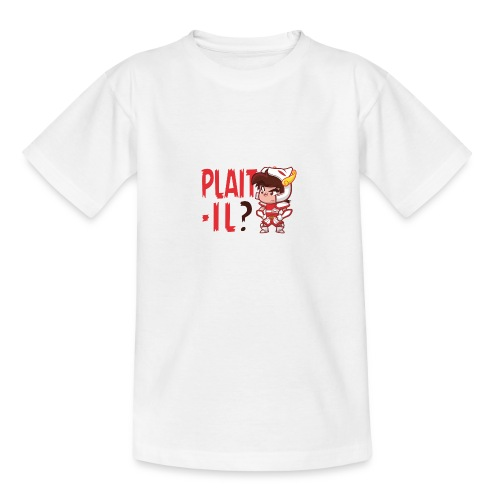 Seiya - Plaît-il ? (texte rouge) - T-shirt Ado