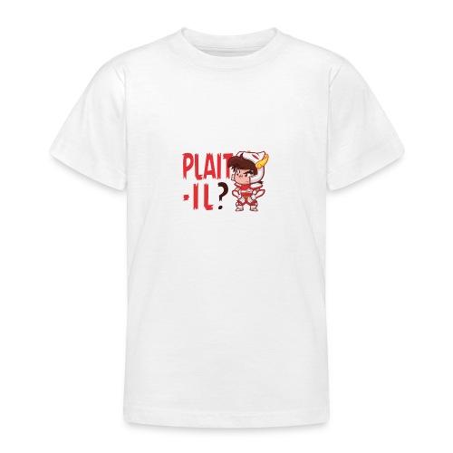 Seiya vous dit Plaît-il ? (texte rouge) Tee - T-shirt Ado