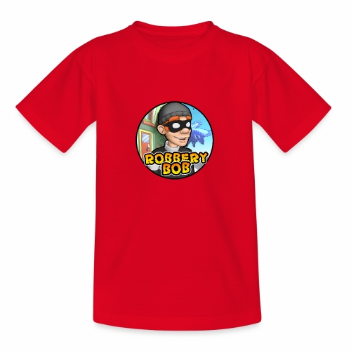 Robbery Bob Button - Teenage T-Shirt