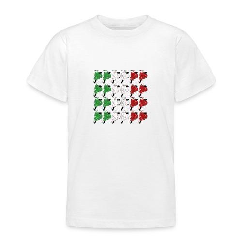 Italian_flag-png - Maglietta per ragazzi