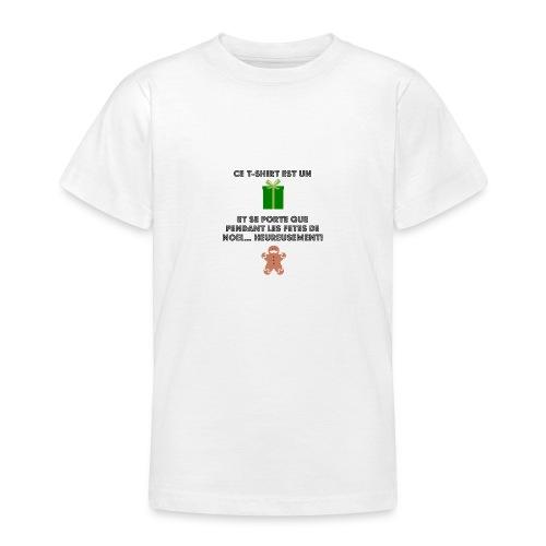 T-shirt cadeau de Noël - T-shirt Ado