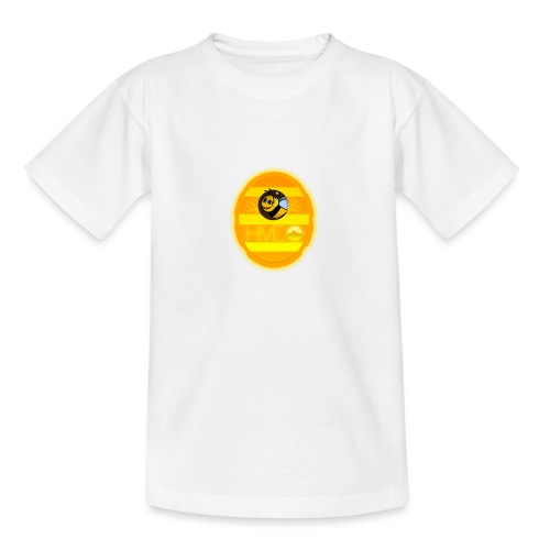 Herre T-Shirt - Med logo - Teenager-T-shirt
