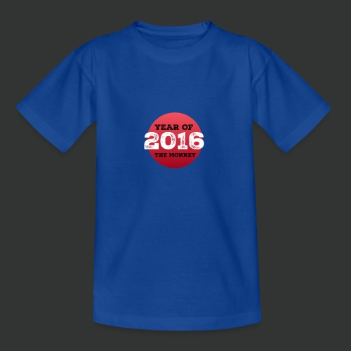 2016 year of the monkey - Teenage T-Shirt