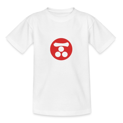 Mori Mon Japanese samurai clan in red - Teenage T-Shirt
