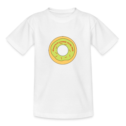 Donut Come For Me Red - Teenage T-Shirt