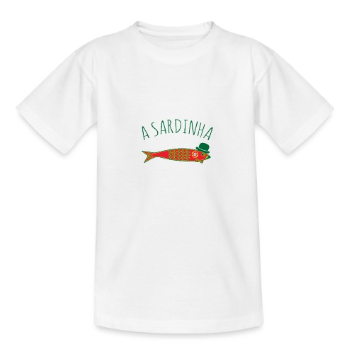 A Sardinha - Bandeira - T-shirt Ado