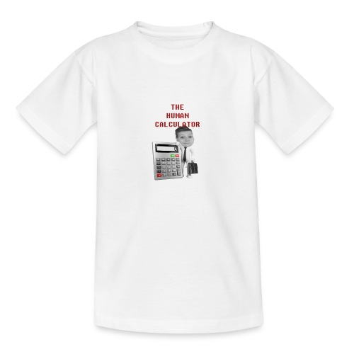The Human Calcutor - T-shirt tonåring