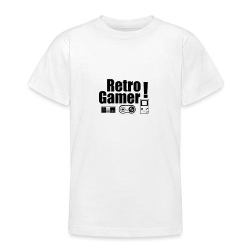 Retro Gamer! - Teenage T-Shirt