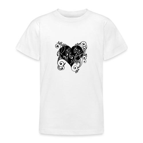 Isle of Heart Petal - Teenage T-Shirt