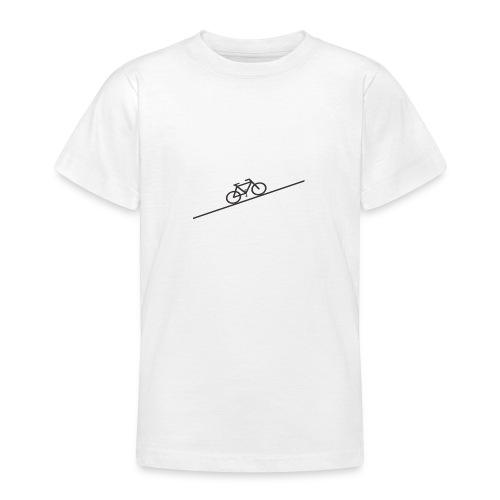 bike_climb.png - Teenage T-Shirt