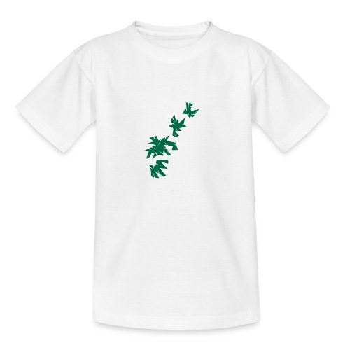 Green Leaves - Teenager T-Shirt